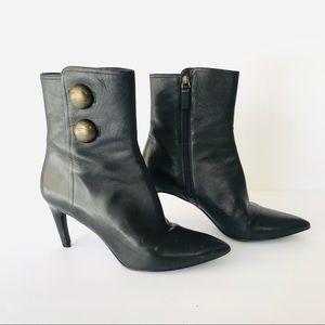 Via Spiga Hanne Leather Ankle Boots Sz 7.5